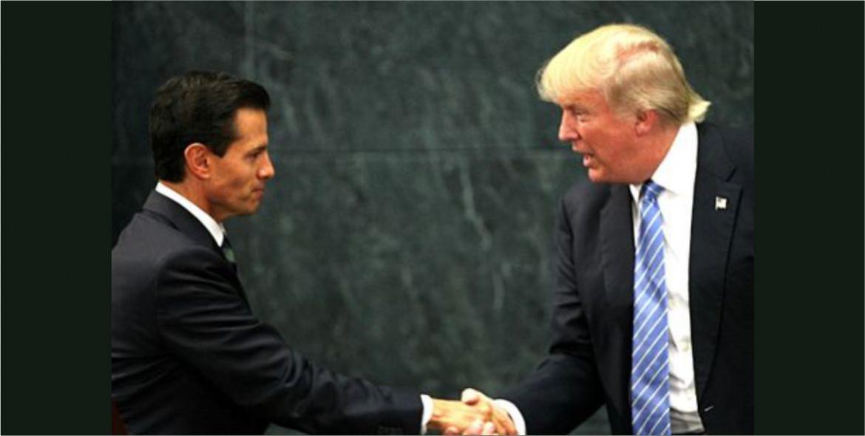 Trump agradece a EPN por hospitalidad