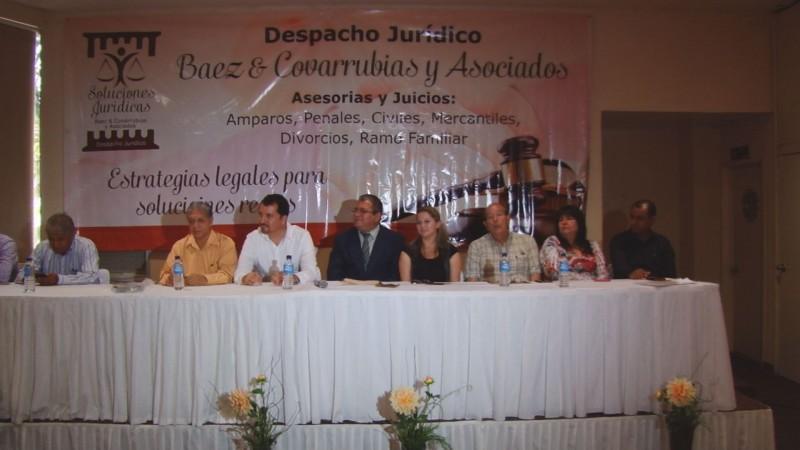 Constituyen despacho jurídico Baez & Covarrubias y Asociados