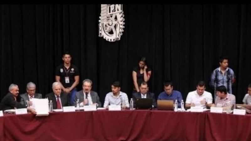 Estudiantes del IPN piden la designación del director