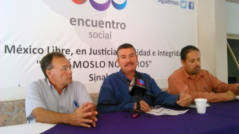 El Partido Encuentro Social entregará iniciativa para la Ley de Transporte