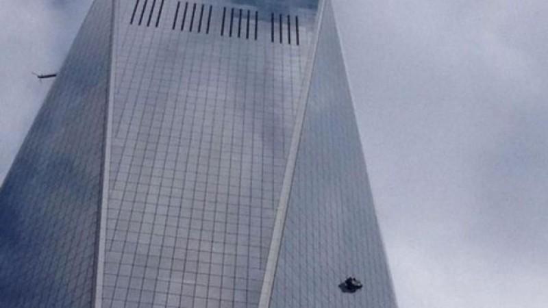 Rescatan a limpiadores de vidrios que quedaron colgados en nuevo WTC en NY