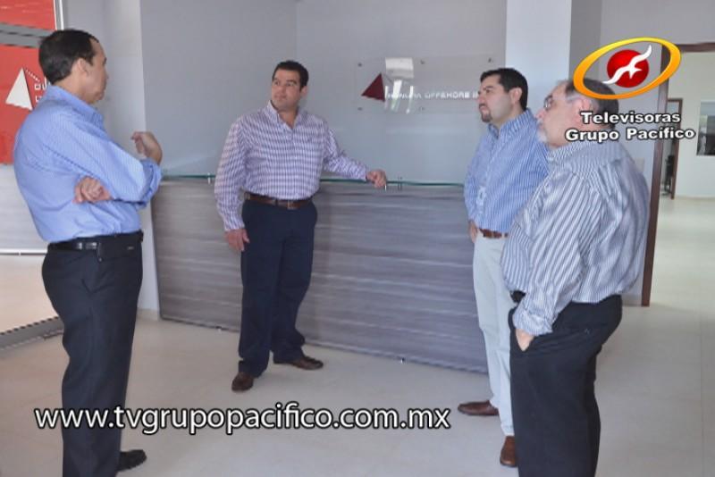 Recorre Alcalde instalaciones del nuevo Parque Tecnológico