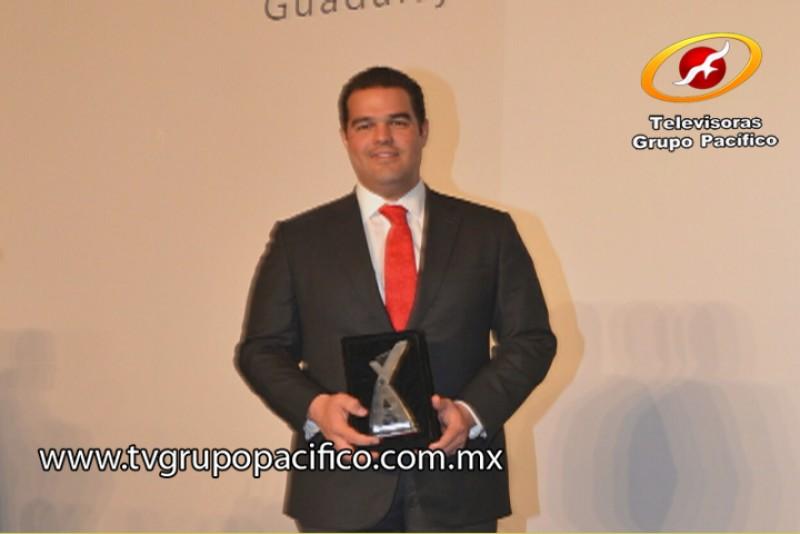 Recibe el Alcalde de Cajeme Premio Nacional de Buen Gobierno