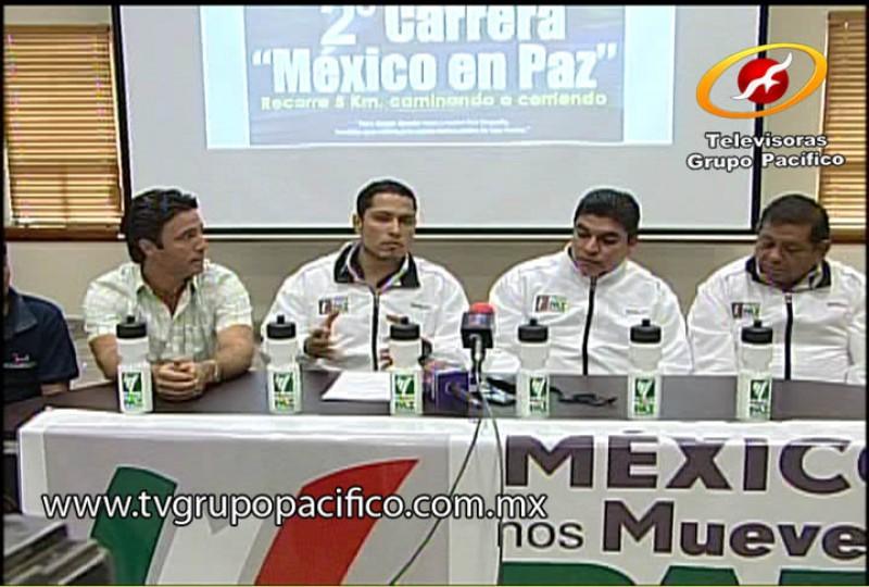 Anuncian segunda carrera México en Paz.