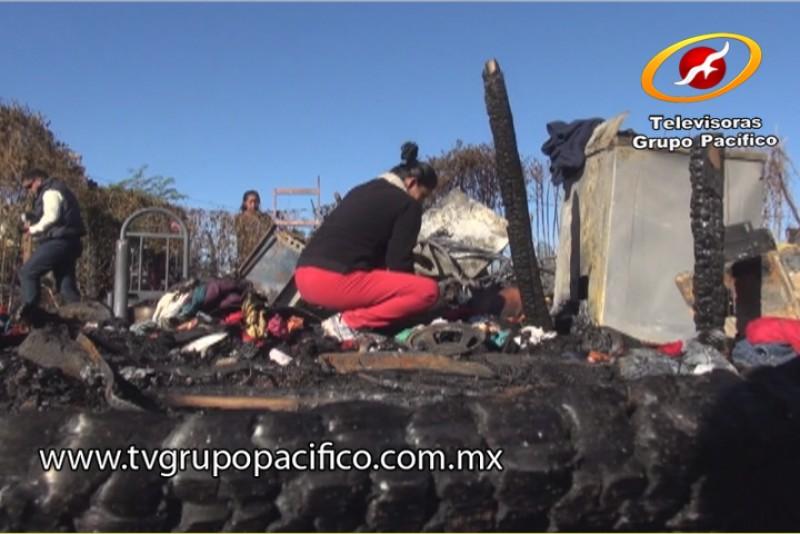 Comienza reconstrucción de viviendas incendiadas en Pueblo Yaqui
