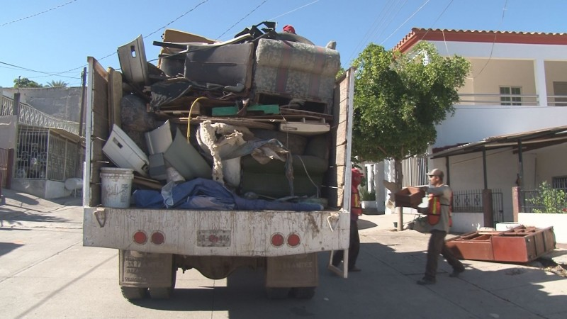 Se han recogido 617 toneladas de cacharros en culiacán