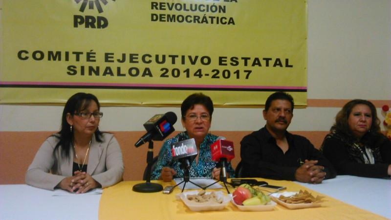 Presenta iniciativa el PRD para sancionar la corrupción de servidores públicos