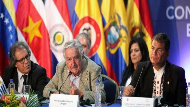 Aprueba la Unasur libre tránsito en naciones de Sudamérica