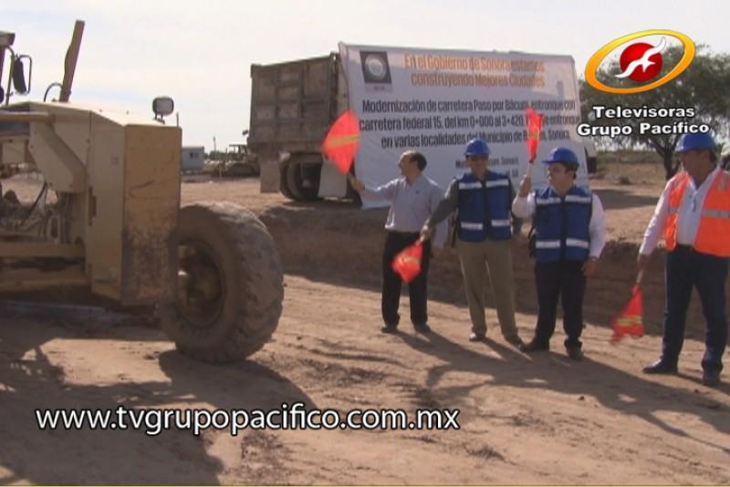 En marzo concluirán segunda etapa de ampliación de carretera paso por Bácum