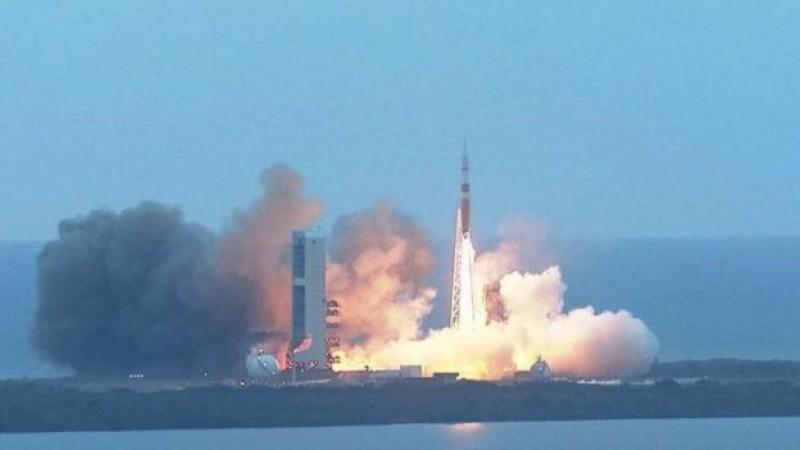 Despega la cápsula Orion al espacio