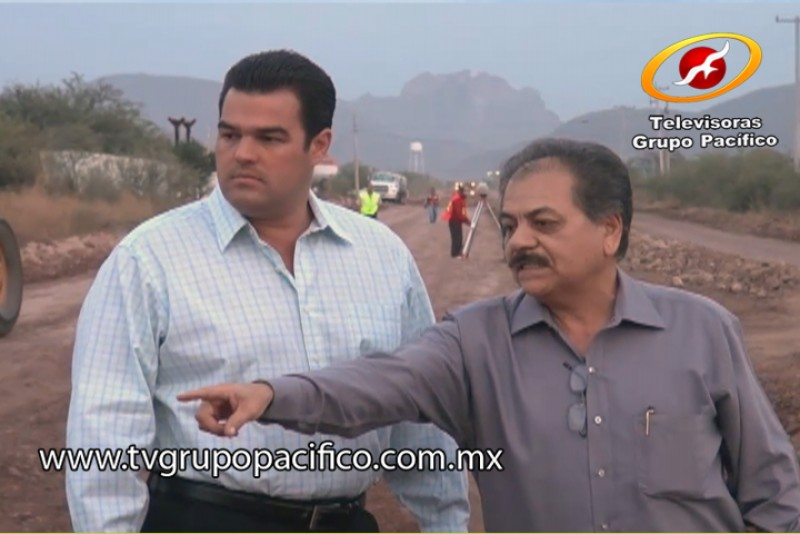 Supervisa Alcalde ampliación de calzada Francisco Villanueva