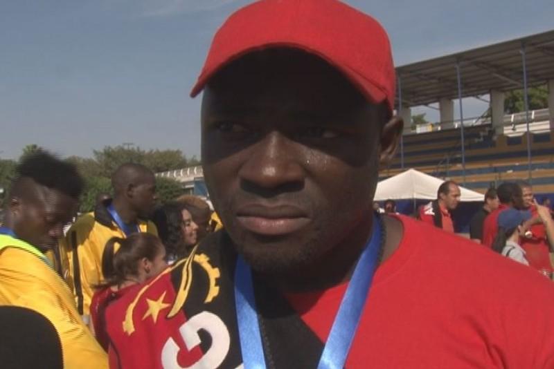 Angola  satisfecho con el subcampeonato: Baptista
