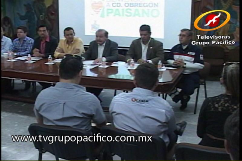 """Anuncian programa """"Bienvenido a Ciudad Obregón Paisano"""""""