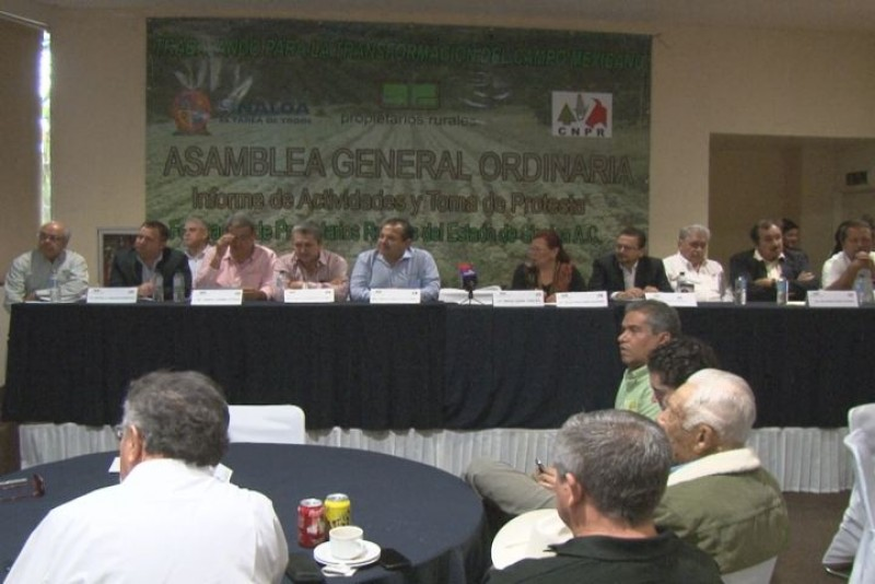 Buscan Propietarios Rurales espacios en el Congreso de la Unión