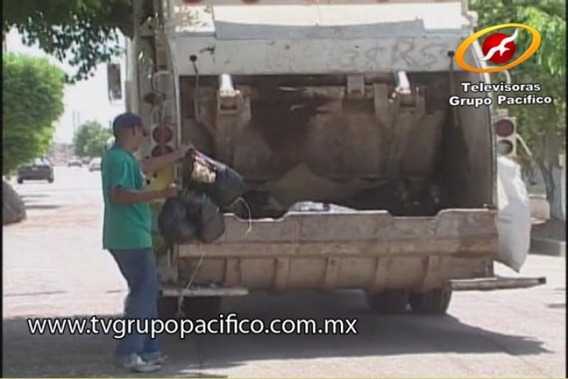 Reforzará Ayuntamiento servicio de recolección de basura