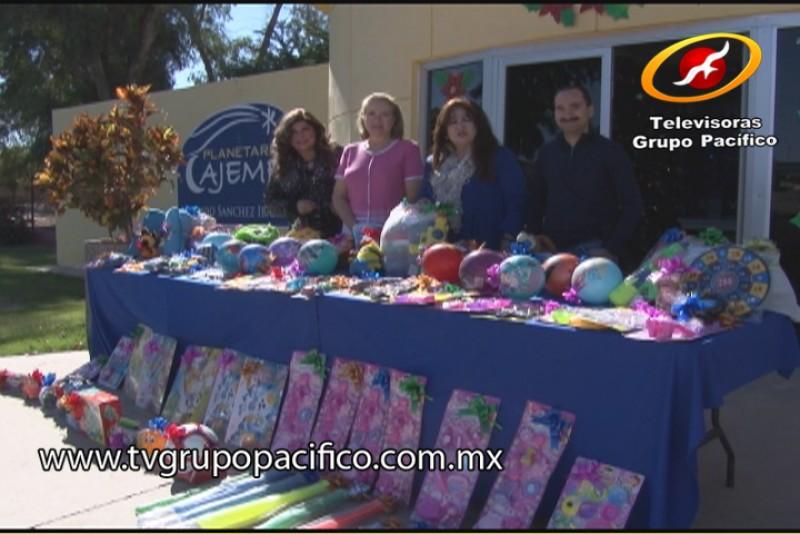Planetario de Cajeme envía alegría a los niños de Huirívis, Ráhum y Belem