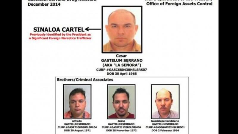 EU congela bienes a proveedor de cocaína del Cártel de Sinaloa