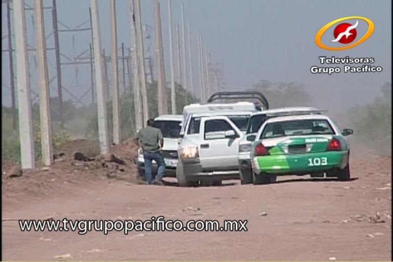 Investigan posible suicidio en el Valle del Yaqui.