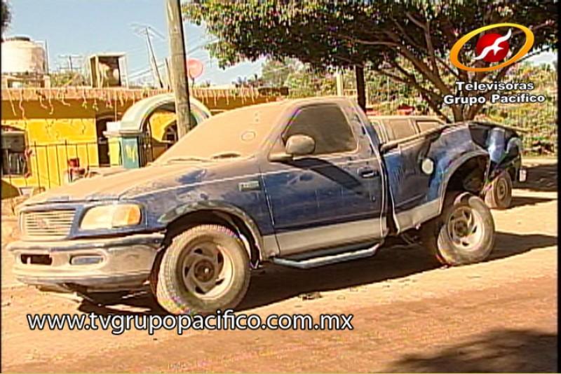 Fallecieron dos  jóvenes tras accidente en Pueblo Yaqui.