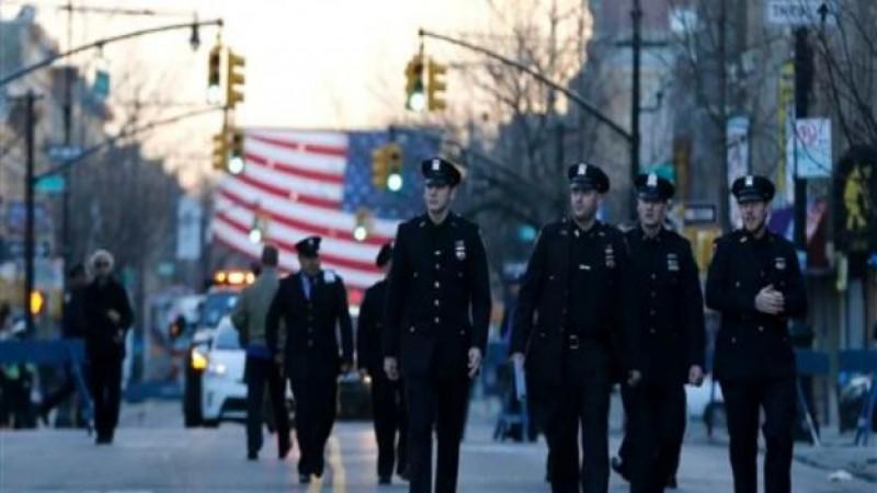 Despiden con un homenaje a policías caído en su deber en NY