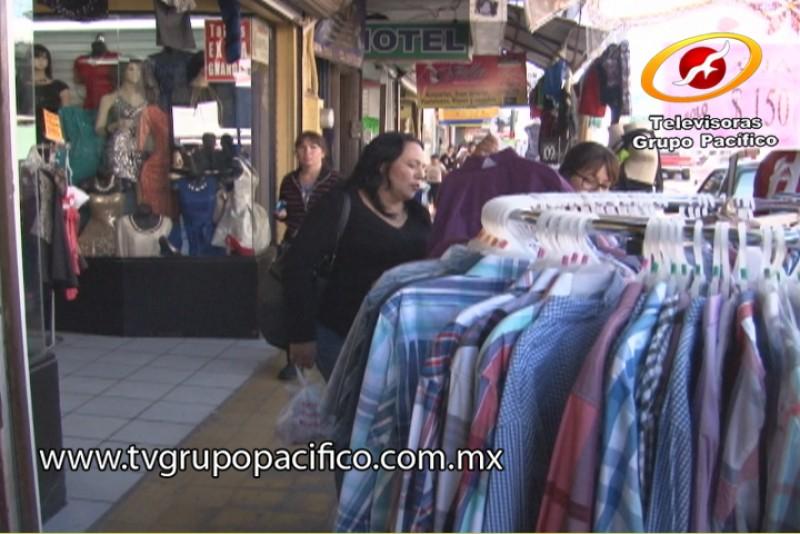 Despejarán puestos temporales de comercio ambulante