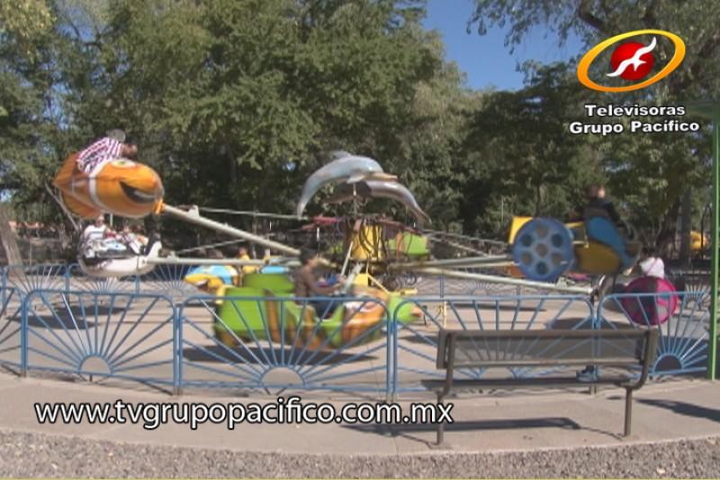Parque Infantil un éxito también en Año Nuevo