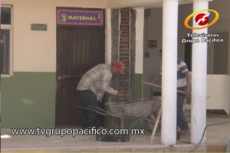 Supervisa DIF obras de remodelación en guardería