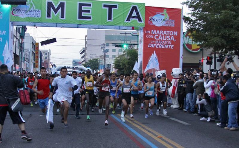 Primeros 450 registros para el XXVI Maraton Culiacán