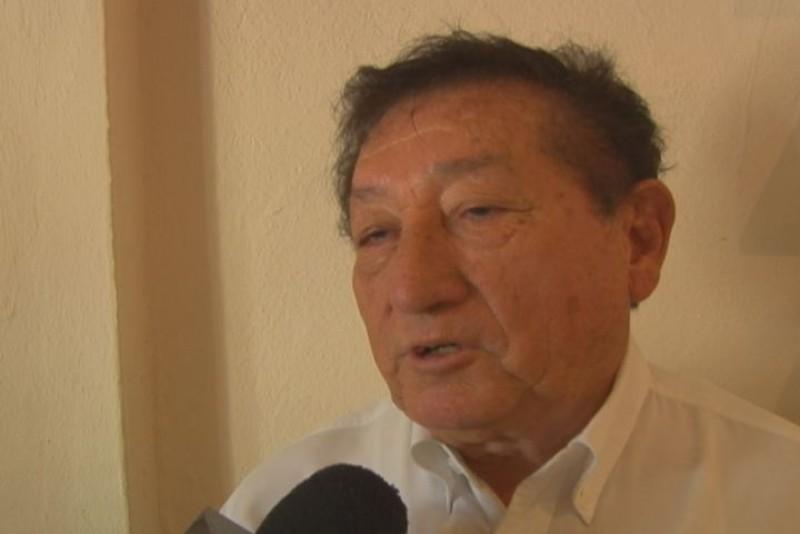 Don Francisco Cuamea padrino de Happy New Race