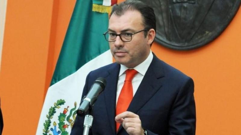 Mantendrá estabilidad macroeconómica y discplina fiscal, afirma Videgaray