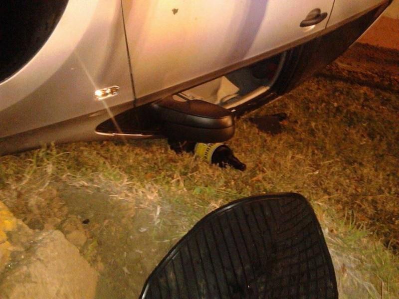 Un muerto y 4 lesionados deja volcadura en la Sábalo-Cerritos