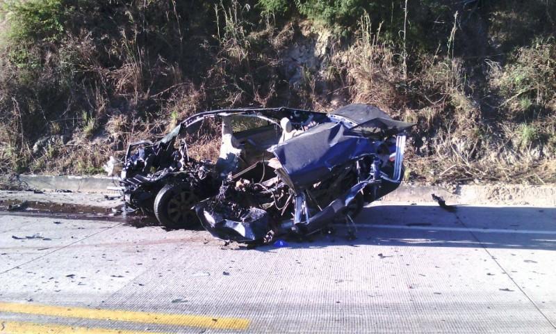 Fatal accidente por la autopista Villa Unión-Rosario