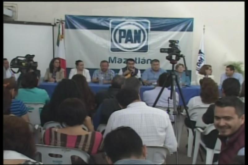 Presenta PAN a aspirantes para el 06 y 08 distrito