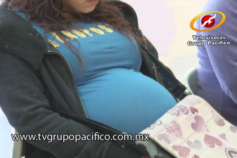 Aumentan embarazos en adolescentes