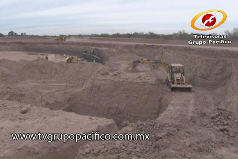 Construyen cimientos del nuevo estadio del equipo Yaquis