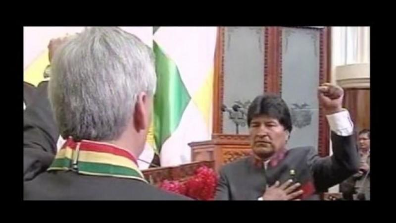 Evo Morales jura su tercer mandato como presidente de Bolivia