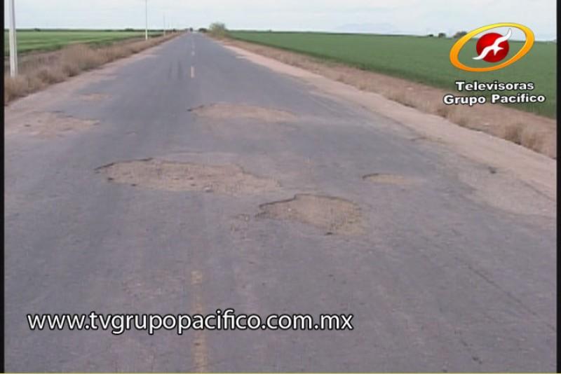 Urge rehabilitar caminos rurales en Valle del Yaqui