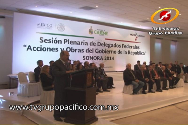 Presentaron informe en Cajeme los Delegados Federales