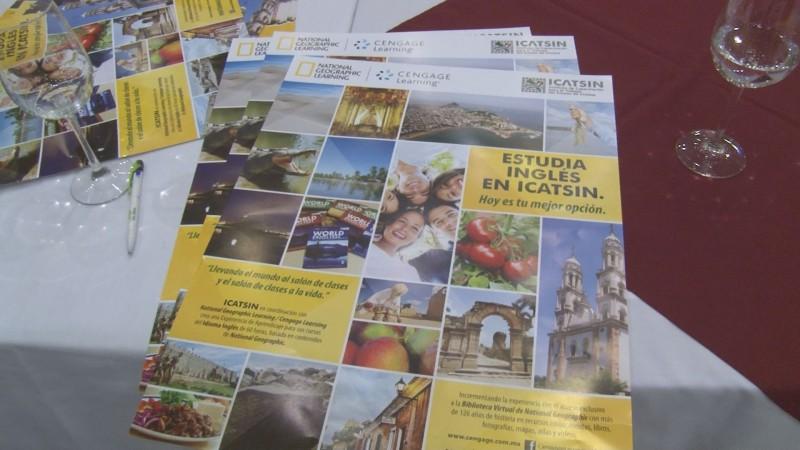 ICATSIN y National Geographic se coordinan para cursos de inglés.