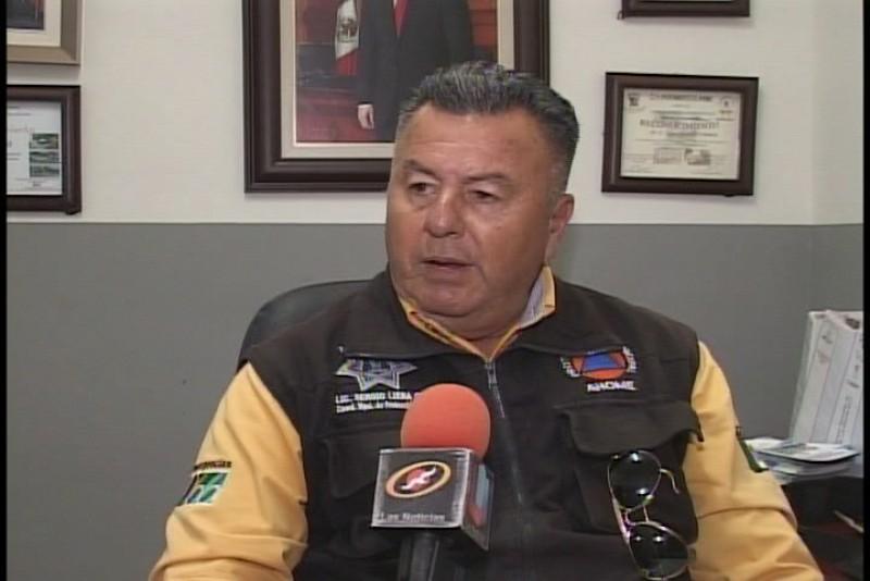 Reinstalan a Sergio Liera al frente de protección civil