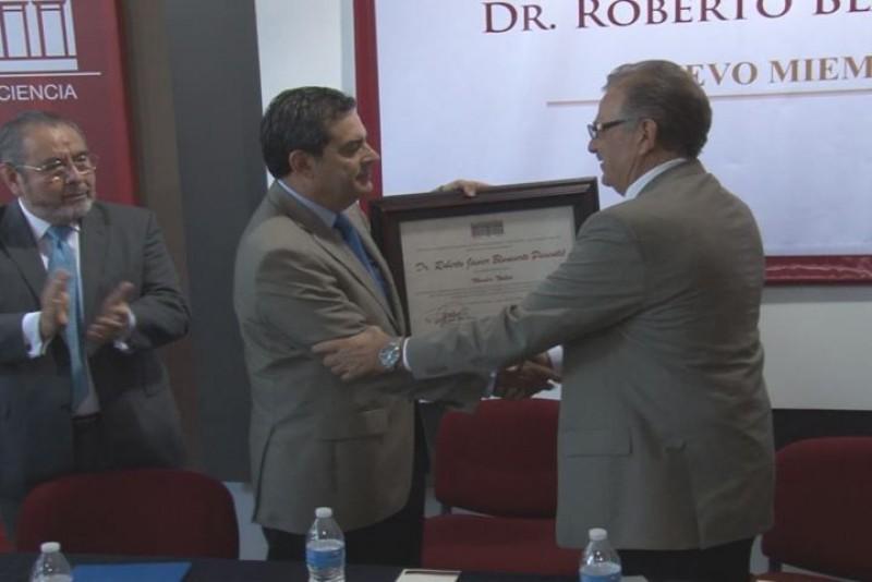 Nuevo miembro del Colegio de Sinaloa Roberto Blancarte Pimentel