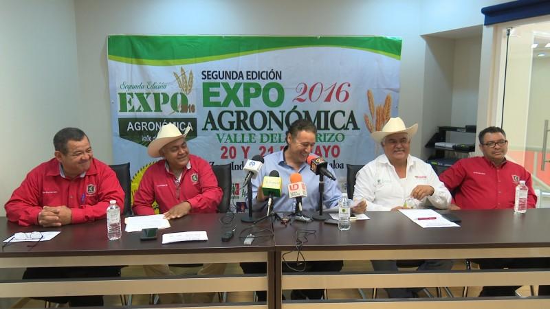 Presentan la Expo Agronómica 2016 en El Carrizo