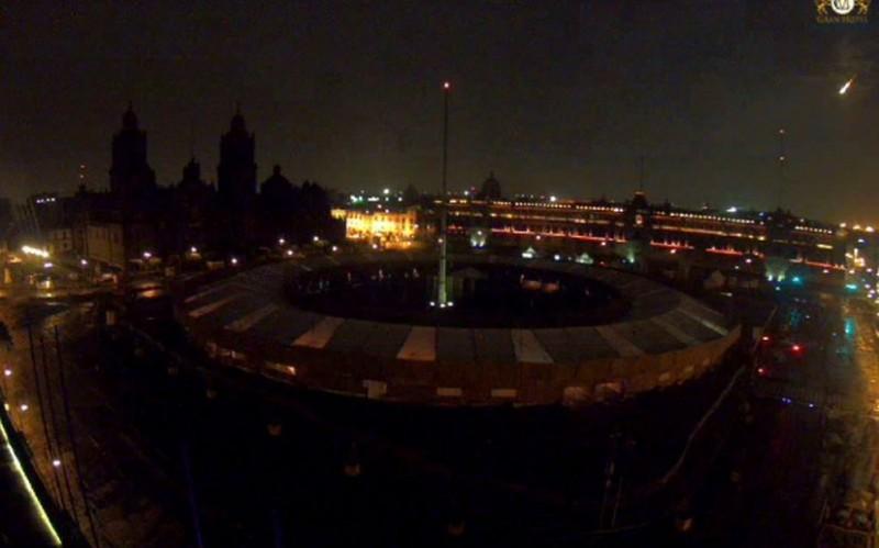Despierta a habitantes de Puebla un destello de luz