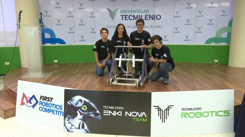 Estudiantes de preparatoria de Los Mochis ganan concurso nacional de robótica