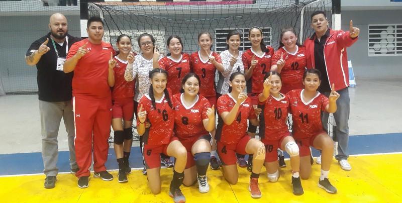 Sonora gana el oro en la Olimpiada Nacional de handball