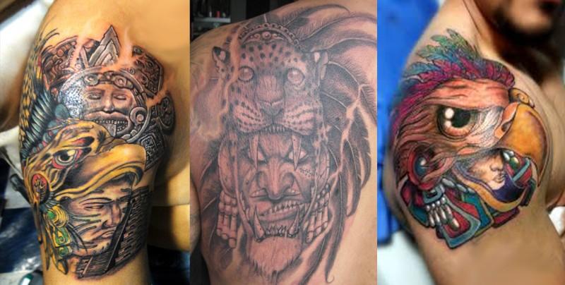 ¿Buscan  sicarios parecerse a los guerreros águila y jaguar aztecas?