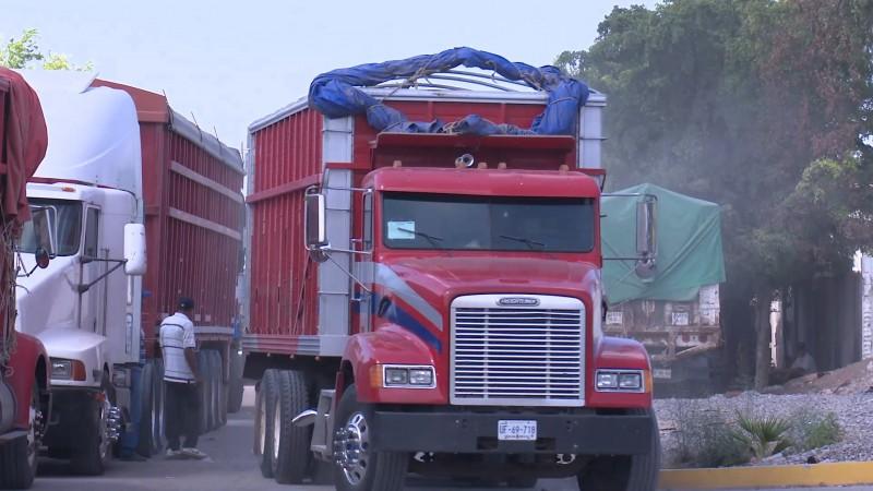 Vialidad y transportes retiene 76 permisos de transporte de carga