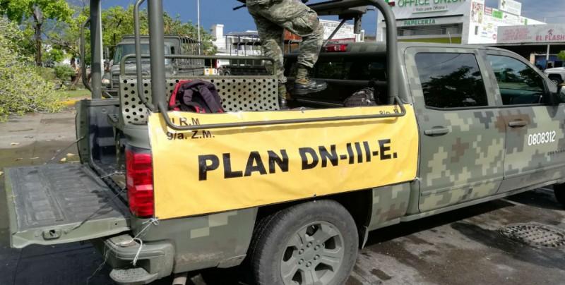 Activa SEDENA Plan DNIII en Mazatlán