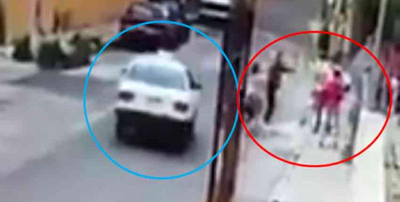 #Video Taxista impide asalto a familia