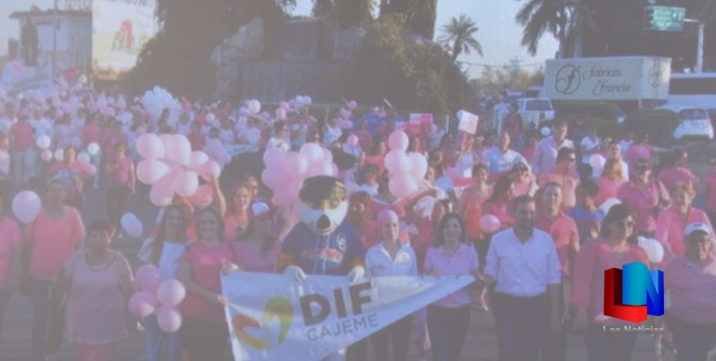 En el marco del mes de la lucha contra el cáncer realizan Caminata ...